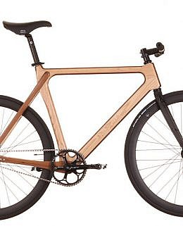 Materia Bikes Wudu (Ash-Walnut)