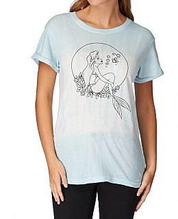 Vans - Ariel RockerWomen's T-Shirt(Blue)