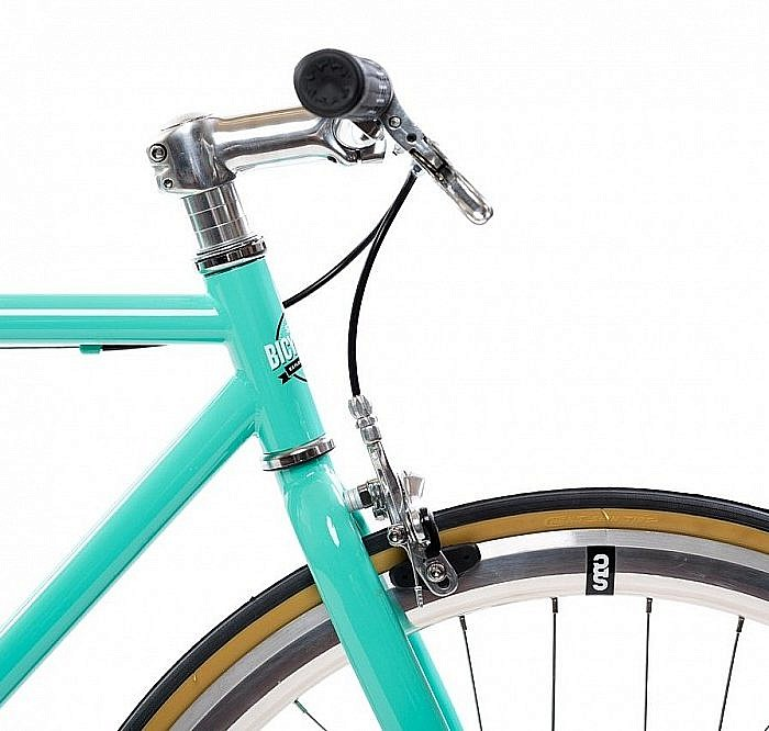 Fixed Gear//Single Speed Bike Riser Bar Seat Stay Rack Mounts Durable Steel Frame ft State Bicycle Core Line
